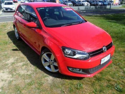 2012 Volkswagen Polo 6R MY12 77 TSI Comfortline Red 6 Speed Manual Hatchback Belconnen Belconnen Area Preview