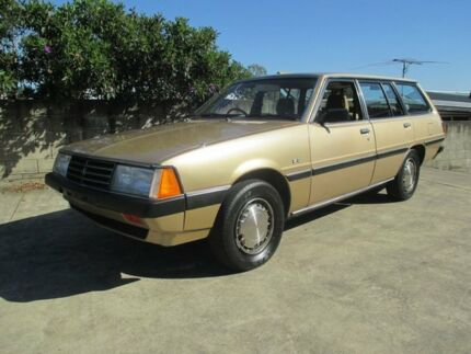 1982 Mitsubishi Sigma NH SE 2.0 Gold 3 Speed Automatic Wagon Birkdale Redland Area Preview