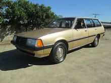 1982 Mitsubishi Sigma NH SE 2.0 Gold 3 Speed Automatic Wagon Birkdale Redland Area Preview