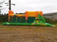 Safari Run 37ft long - bouncy castle