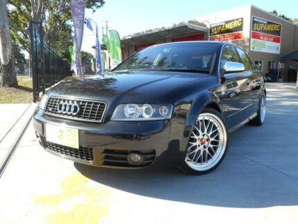 2003 Audi S4 B6 Quattro Black 6 Speed Manual Sedan