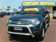 2011 Mitsubishi Triton MN MY11 GL-R (4x4) Gunmetal Grey 5 Speed Manual Thorngate Prospect Area Preview