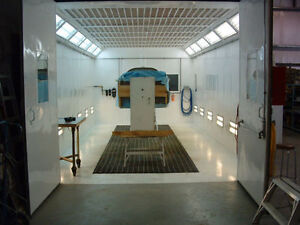 SPRAY BOOTH RENTAL PAINT BOOTH RENTAL