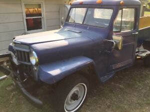 1958 WILLY'S TRUCK