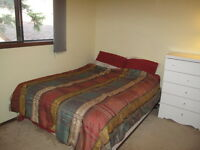 Furnished bedroom for couple in Banff, Available Sep1st-