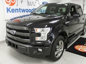2015 Ford F-150 ANOTHER FULLY LOADED BLACK ON BLACK LOOK AT ME T