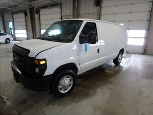 2010 Ford Econoline E-150 Cargo Van Commercial Shelvings Gas