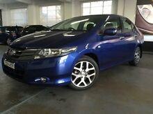 2009 Honda City GM VTi Blue 5 Speed Manual Sedan Five Dock Canada Bay Area Preview