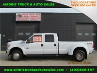 2012 Ford SD F-350 XLT 4X4 Crew Cab 8FT Box Dually Diesel