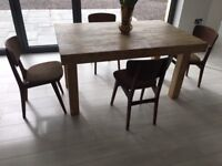 4 dining chairs 50s Remploy Character vintage