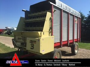 Dion N10R Forage Box on Horst Wagon