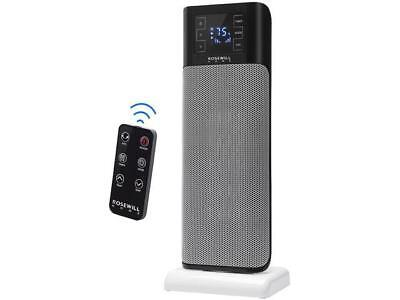 Rosewill Electric Oscillating Tower Heater Fan with Thermostat / Portable Cerami