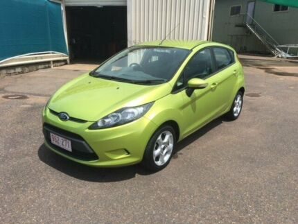 2010 Ford Fiesta WS CL Green 4 Speed Automatic Hatchback