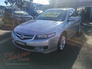 2006 Honda Accord MY06 Upgrade Euro Luxury Silver 5 Speed Sequential Auto Sedan Lansvale Liverpool Area Preview