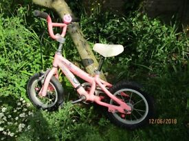 Specialized Hotrock 12 girl's bicycle - age 3-5
