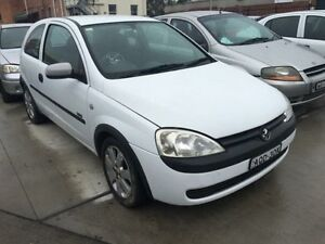 2003 Holden Barina XC SXI White 5 Speed Manual Hatchback Georgetown Newcastle Area Preview