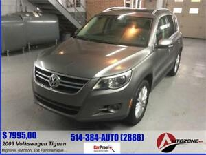 2009 Volkswagen Tiguan Highline 4MOTION/CUIR/TOIT PANORAMIQUE