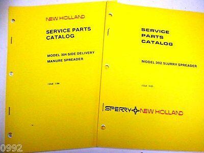 New Holland 302 304 Manure Spreader Manuals