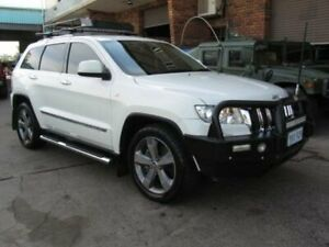 2012 Jeep Grand Cherokee WK MY12 Limited (4x4) White 5 Speed Automatic Wagon Roselands Canterbury Area Preview