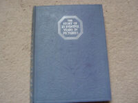 1930s book of monochrome photos of recent history, current affairs and culture