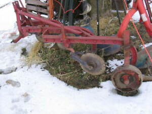 Internatonal Harvester 3 furrow plow