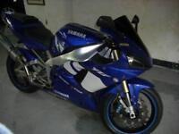 2001 Yamaha YZF-R1 5JJ 998CC