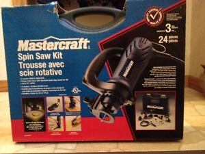 NEVER USED  Mastercraft Spin Saw Kit ($95.00)