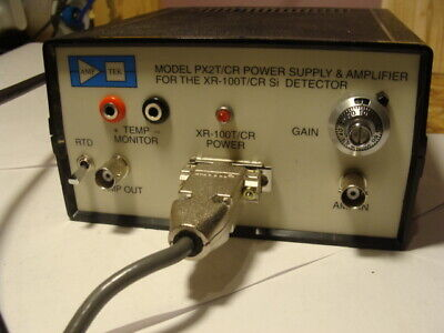 Amp Tek Px2t Cr Power Supply Amplifier And Xr-100cr Si X-ray