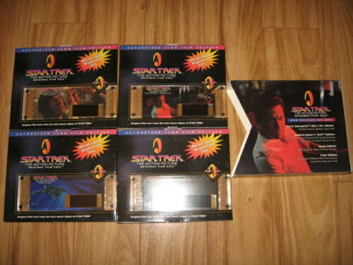 Star Trek The Motion Picture Set #46701 of Film Cells #00726 Set 1 Free Shipping