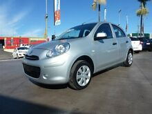 2014 Nissan Micra K13 MY13 ST Silver 4 Speed Automatic Hatchback Strathpine Pine Rivers Area Preview
