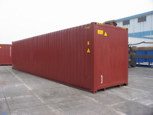 40'  High-Cube, One-Trip Shipping Container (NB)