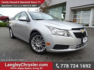 2013 Chevrolet Cruze ECO W/ BLUETOOTH & POWER ACCESSORIES