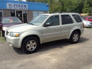 2005 Ford Escape Limited Fully Certified! No accidents!