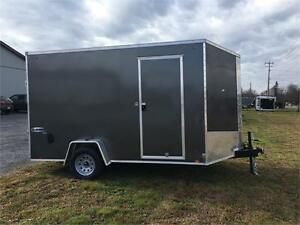 2017 LOOK 7X12 SINGLE AXLE PRO SERIES WITH 7' INTERIOR