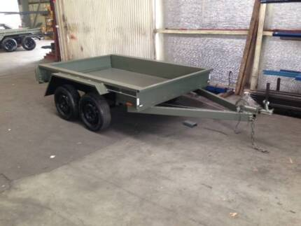 8 x 5 Tandem trailer with brakes - NEW Licensed Loadstar Welshpool Canning Area Preview