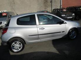 RENAULT CLIO 1.2 TCE Expression 3dr (silver) 2008
