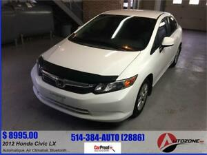 2012 Honda Civic LX/Automatique/Air Climatisé/Bluetooth/Gr.Elect