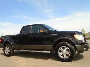 2009 FORD F-150 FX4 OFF ROAD STEP-SIDE-4X4-LEATHER-R/STARTER