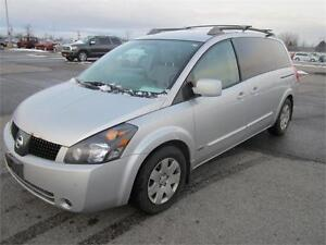 2006 Nissan Quest LOADED D V D Player
