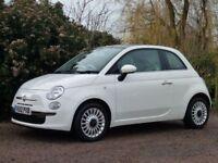 FIAT 500 1.2 LOUNGE 3d 69 BHP (white) 2012