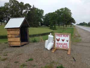 Free Range Chicken Manure / Fertilizer