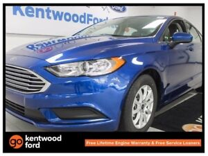 2017 Ford Fusion S, FWD, 100a pkg Remote Starter, SYNC, Reverse