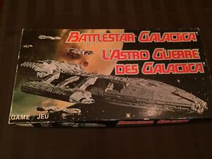 Retro BATTLESTAR GALACTICA Board Game (Parker Brothers 1978)