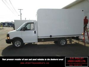 2011 Chevrolet Express Commercial Cutaway 3500