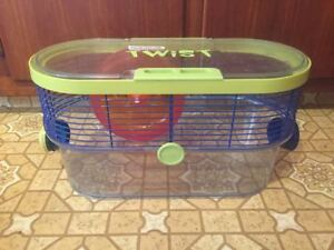 Nice Colourful Hamster Cage