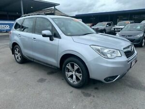 2014 Subaru Forester S4 MY14 2.5i Lineartronic AWD Ice Silver 6 Speed Constant Variable Wagon