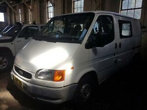 1998 Ford Transit VG Low (SWB) White 5 Speed Manual Van Georgetown Newcastle Area Preview