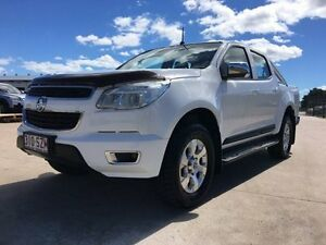 2012 Holden Colorado RG MY13 LTZ Crew Cab White 5 Speed Manual Utility Garbutt Townsville City Preview