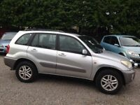 Toyota Rav4 2.0 GX VVT-I, 5 Door Edition, Silver, Alloys, MOT'd, Part Exchange - Trade In to Clear
