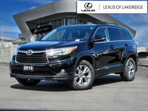 2016 Toyota Highlander LE, AWD, No Accidents, One Owner